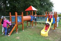 City of Dačice opens new children's playground for the public