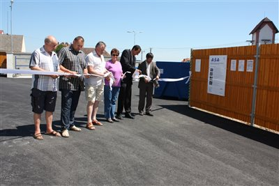 .A.S.A. EKO Znojmo opens new waste collection yard