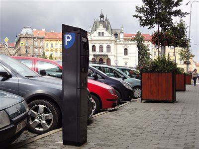 More modern parking system in Znojmo will make parking and paying easier
