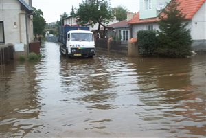 Flood response deployment in 2003 (CZ)