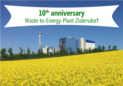 10th anniversary WtE-Plant Zistersdorf - Full power ahead