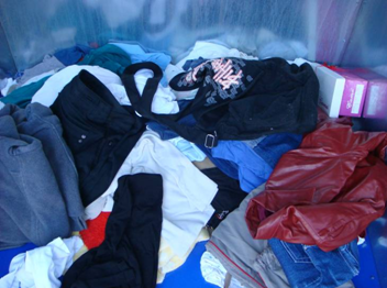 New service from .A.S.A. Ceske Budejovice - collection of used textile