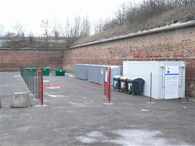 New Waste Collection Yard in Terezín