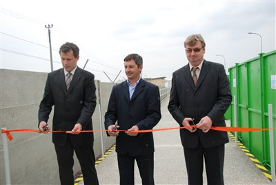 New collection yard was opened in Znojmo