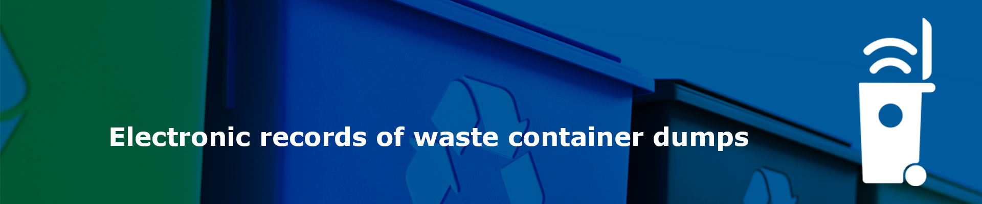 Track your waste online
