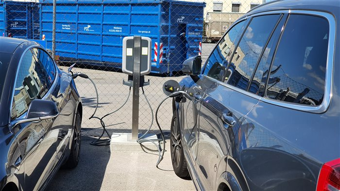 First e-charging station in Himberg