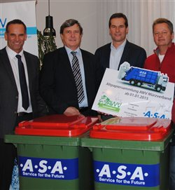 AWV Mürzverband has awarded .A.S.A. a waste paper collection contract