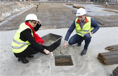 FCC Zabrze: Foundation stone ceremony for air-tight sealing of the installation