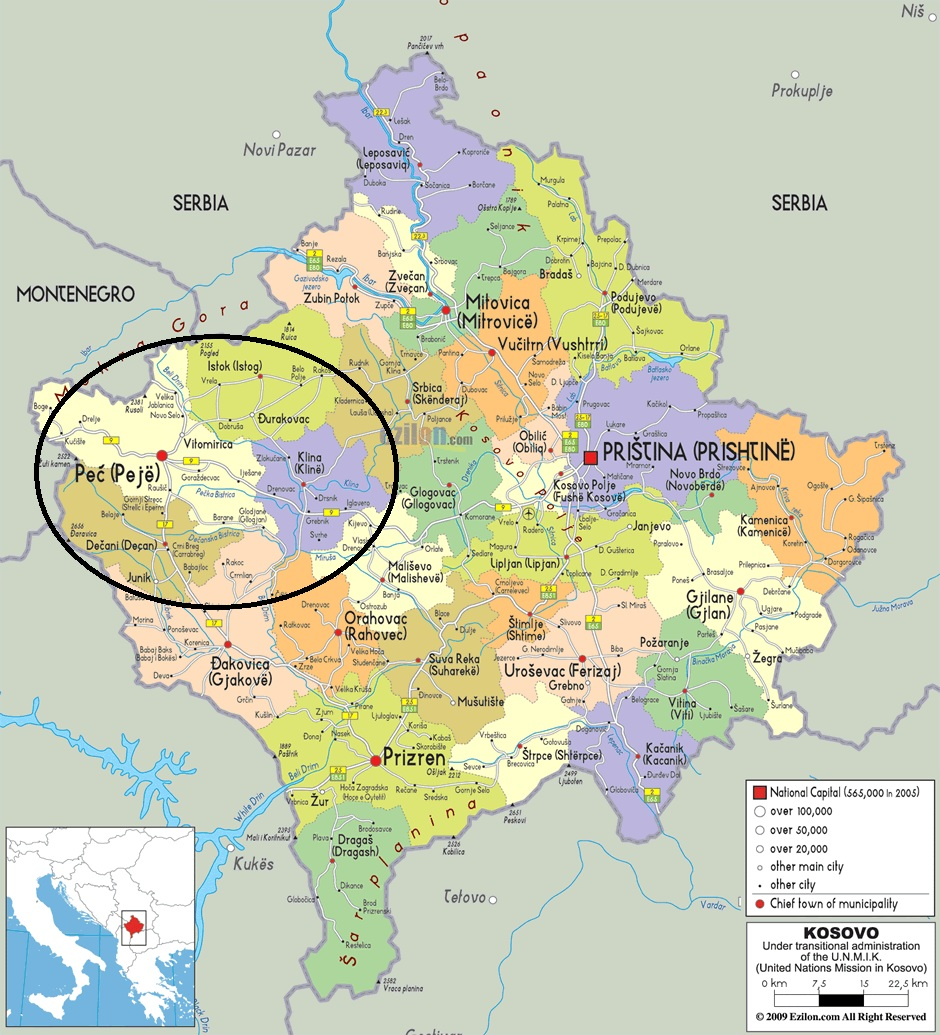 Peja Kosovo Karte.Study Of Comprehensive Waste Management Services In Kosovo Conducted