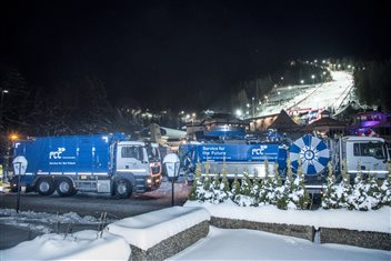 FCC at Semmering- our trucks at the sloap in 2016