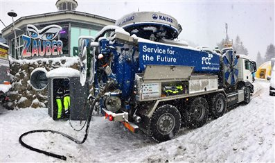 Semmering Weltcup 2016: we provide our services also in a heavy snow