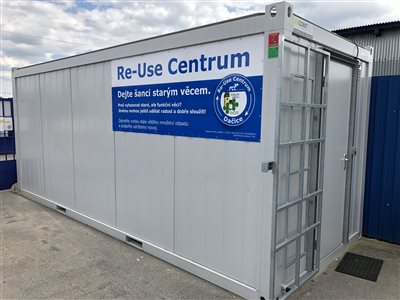 Nové re-use centrum v Dačicích